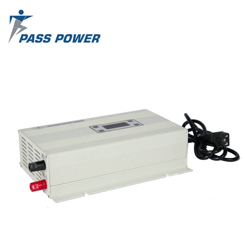48 volt DC 15 Amp  Intelligent battery charger  with Eight-stage charging work mode