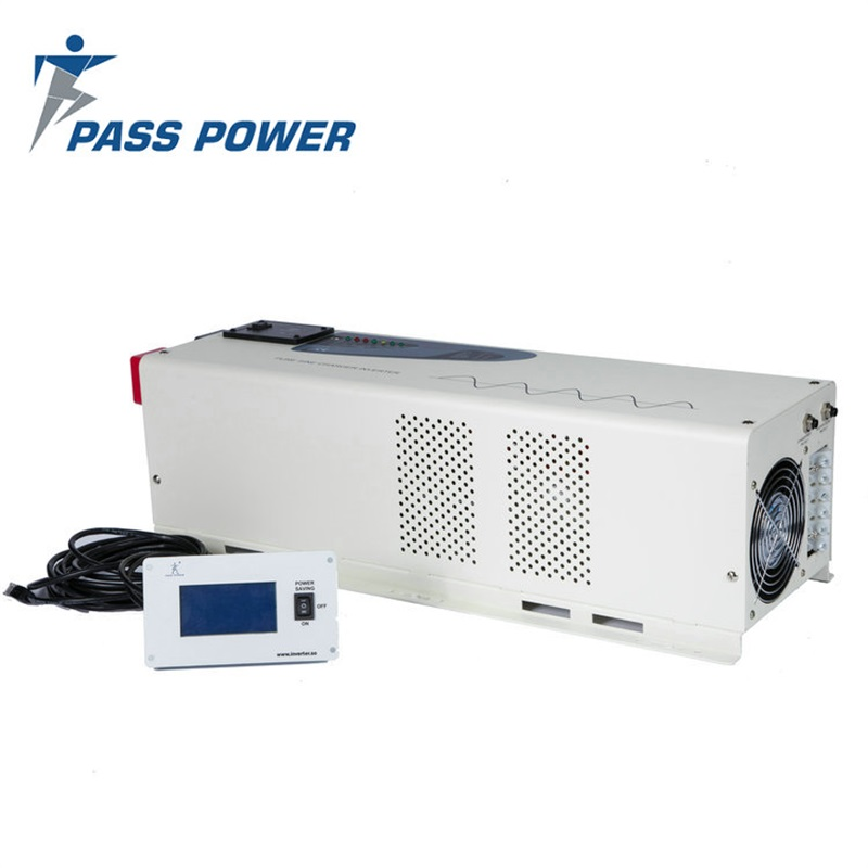 4000 Watt 24 Volt DC 120 Volt AC low frequency pure sine wave inverter charger 4KW PS-4000