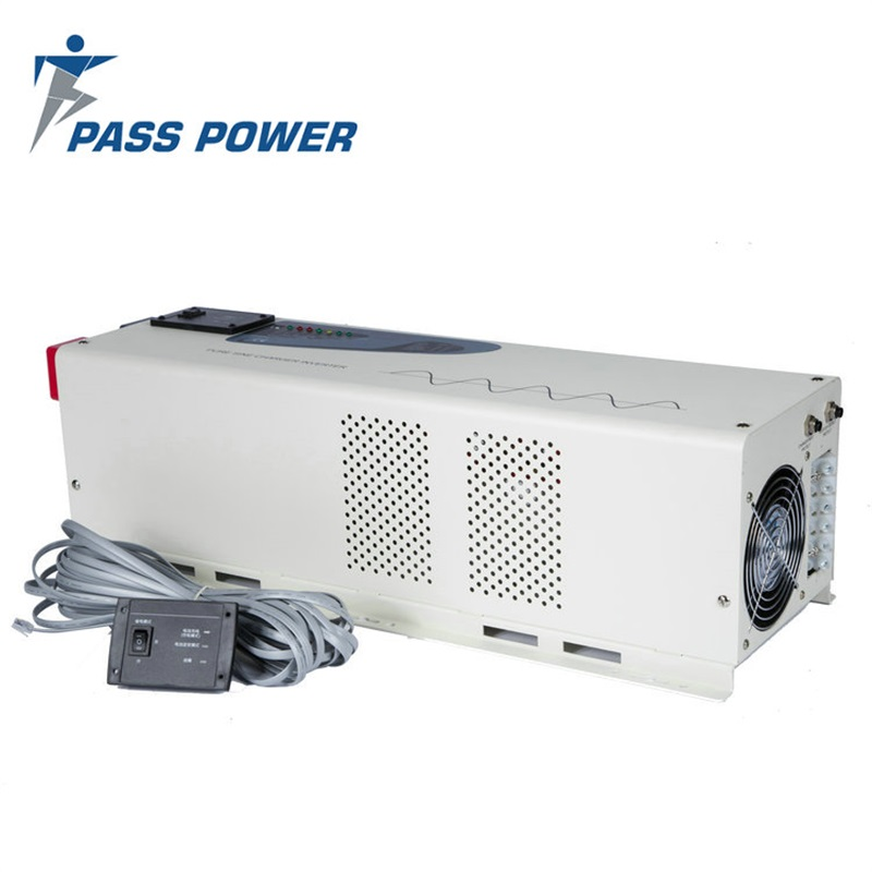 PS-6000 Low Frequency 6000 Watt Pure Sine Wave Power Inverter Charger 48Vdc to 230Vac