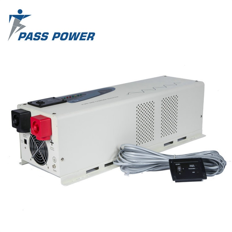 PS-6000 6kw low frequency pure sine inverter charger 24 volt dc 120 volt ac 6000 watt