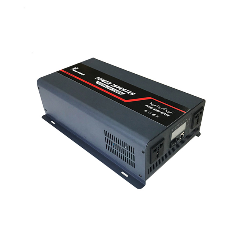 New 1500va 1500w dc to ac pure sine wave power inverter with LED  LCD display panel for home use XP1500