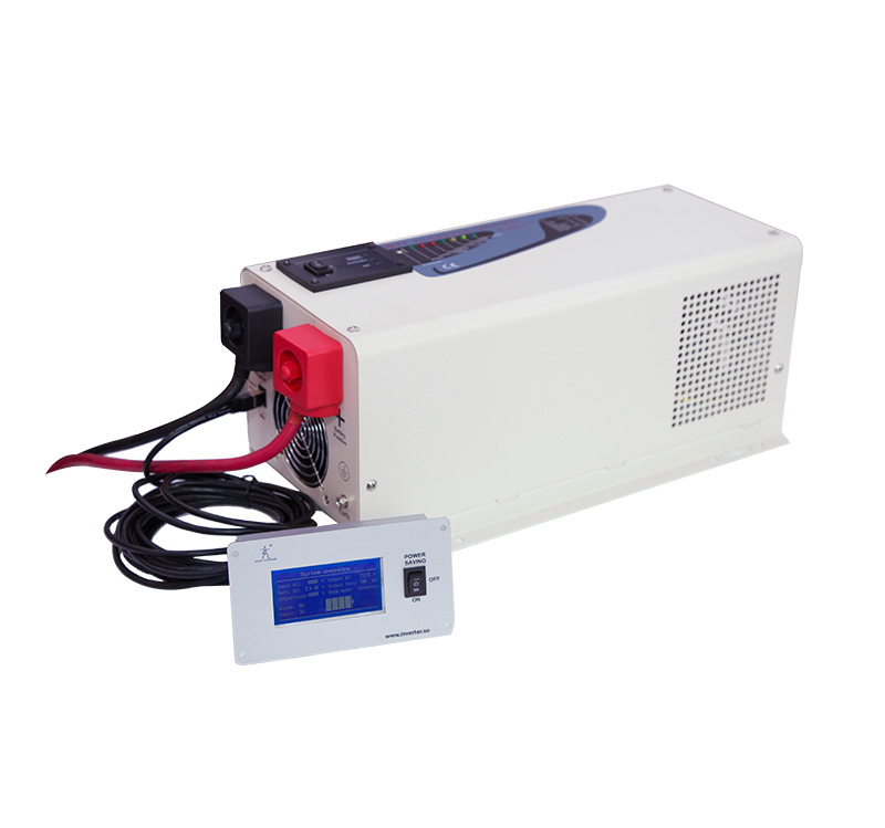 PS-3000 low frequency pure sine wave off-grid hybrid inverter with charger 3000 watt 24Volt  DC 120Volt AC