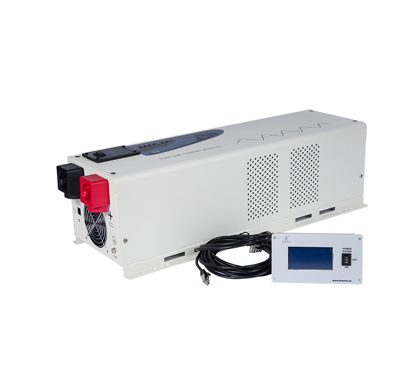 PS-6000  6000 Watt Pure Sine Wave Power Inverter Charger 48Vdc to 120Vac