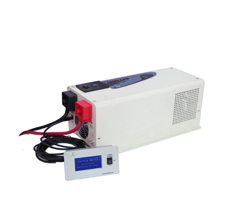 Off-grid Single Low frequency pure sine wave combined inverter with charger 1000 Watt 24V DC 120V AC