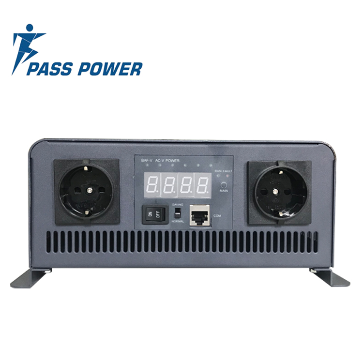 XP-2000 New high frequency 2000 watt 12 vdc to 110 vac pure sine wave  power inverter black