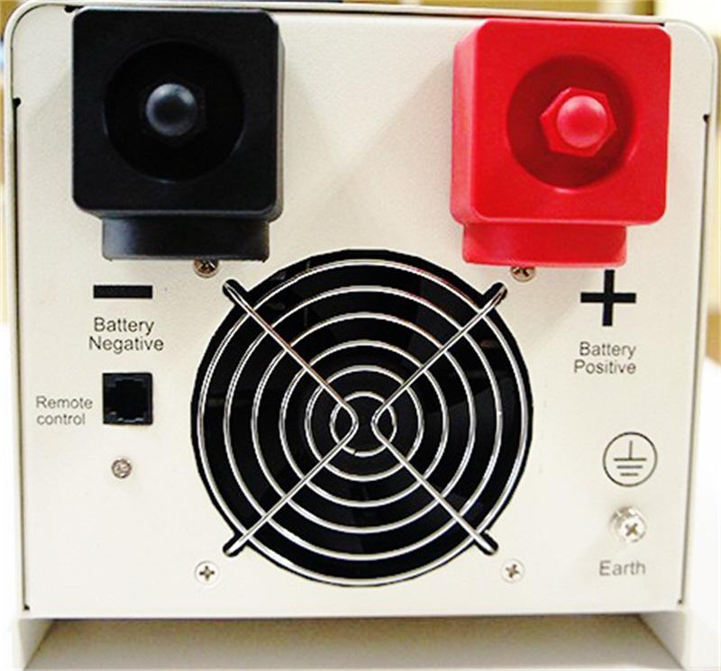 4000 Watt 24 Volt DC 120 Volt AC low frequency pure sine wave inverter charger 4KW PS-4000
