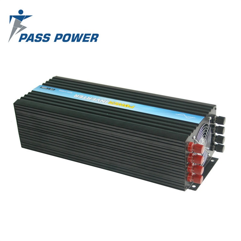 P-5000 5000 watt 12 volt dc to 230 volt ac high frequency pure sine wave Inverter with 2 AC Outlets full protection