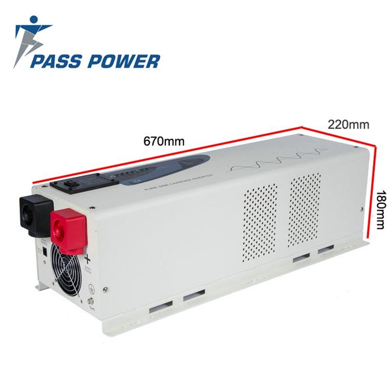 PS-5000 5000 Watt Pure Sine Power Inverter charger 24 VDC to