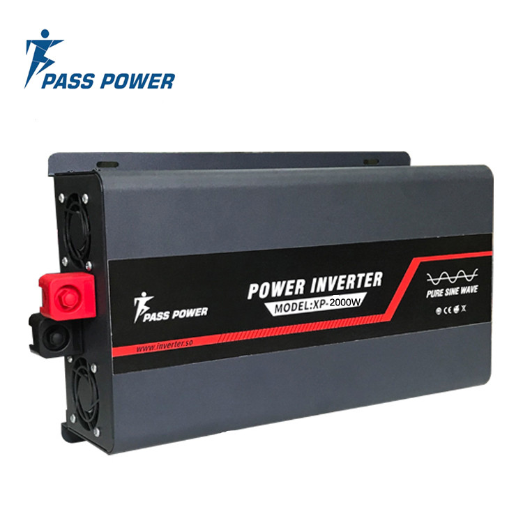 XP-2000  New 2000 watt 12 vdc to 220 vac Power pure sine wave Inverter black for home backup power