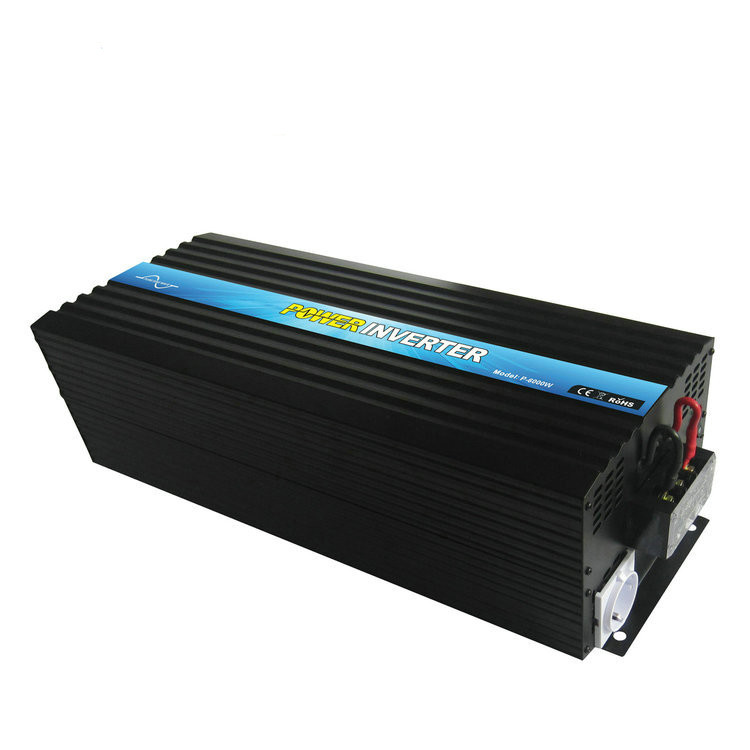 P-6000 6000w 12v 110v 120v pure sine wave dc to ac high frequency inverter 6kw for home use,solar power system and caravan