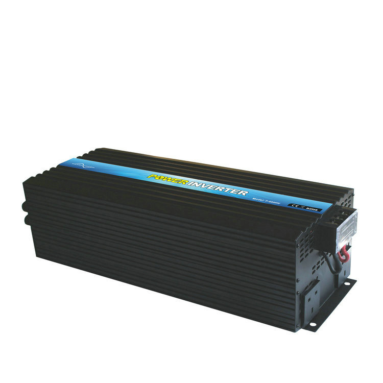 P-6000 6000w offgrid pure sine wave dc to ac high frequency inverter 6kw 48 volt to 220 volt 230 volt for home use,solar power system and caravan