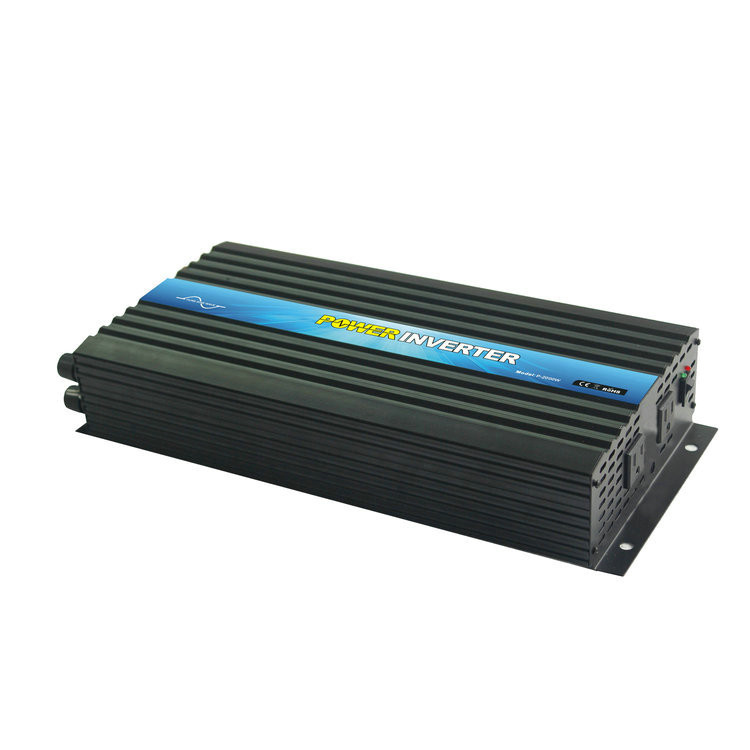 P-2000 2kw High frequency Pure Sine Wave Power Inverter 2000w 24v DC to 110v 120v AC